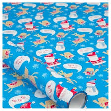 kids wrapping paper asda blue kids character christmas wrapping paper asda groceries