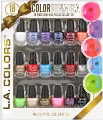 l a colors nail polish gift set 18 pc 18 x 0 17 fl oz 4 9 ml