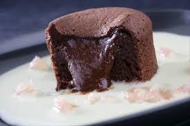 recette de cuisine anglais recette de fondant au chocolat crème anglaise au plemousse