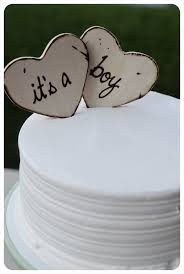 baby shower custom cake toppers for rustic woodland barn