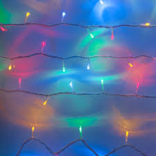 led net lights multi color 100 multi coloured led connectable clear cable fairy lights