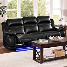 Power Reclining Sofa Jet Casual Power Reclining Sofa With Lighted Base Walker S