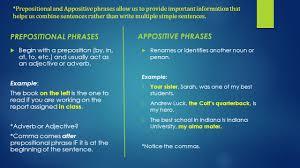 understanding phrases ppt