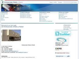 consolato generale d italia a casablanca sito ambasciata italiana in marocco