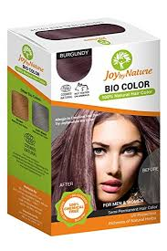 best hair dye without ammonia buy joybynature top selling 100 organic burgundy hair color