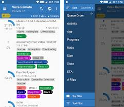 vuze for android vuze remote apk version 2 6 1 vuze android remote