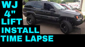 jeep grand cherokee lifted jeep grand cherokee wj rough country 4