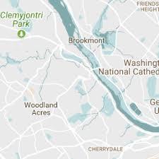 washington dc region map georgetown washington dc neighborhood washington org