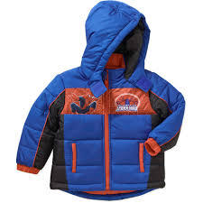 nickelodeon paw patrol toddler boy hooded puffer jacket walmart