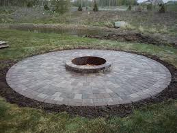 Firepit Rocks Rock Pits Designs Garden Design