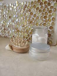 DIY BackSplash Decorating Ideas  HowTos  The Budget Decorator - Diy glass backsplash