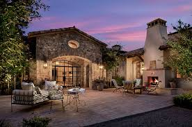 Tuscan Style Patio Furniture Paradise Valley Country Club Masterpiece By Calvis Wyant Luxury