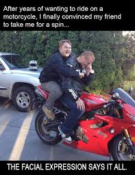 Motorcycle Meme - biker meme fail biker friend born to ride motorcycle magazine