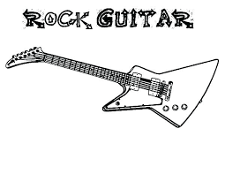 large guitar coloring page guitar coloring page free electric guitar coloring pages guitar