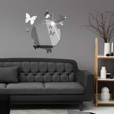 mirror decor picture more detailed about listed stock listed stock mirror wall stickers butterfly decal creative designer bedroom home decoration for kids