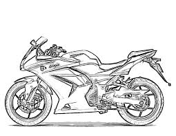 printable motorcycle coloring pages free coloring pages