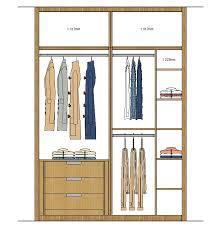closet elevation 5 interior cloakroom u0026 detail pinterest