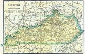 kentucky map 1910 kentucky census map access genealogy