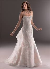 pink lace wedding dress line sweetheart light pink lace wedding dress with detachable