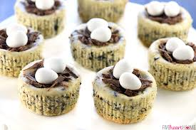easter desserts nest mini oreo cheesecakes easy easter dessert