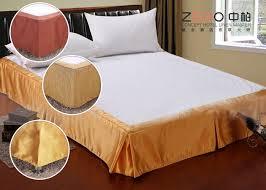 Bed Skirt With Split Corners Style Wrap Around Bed Skirt With Split Corners Oem Odm Available