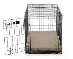 Dog Crate Covers Buddy Beds Luxury Memory Foam Dog Crate Pad With Suede Microfiber