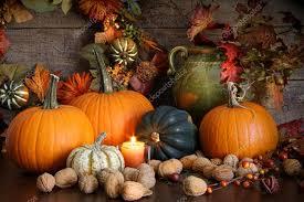 still harvest decoration for thanksgiving stock photo