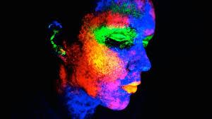 Black Light Halloween Party by Blacklight Uv Makeup Tutorial Youtube