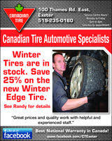 canadian tire in exeter on 519 235 0160 auto tires