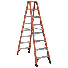 ladder twin step ladder dewalt 3 fibergl 300 lb twin stepladder type ia
