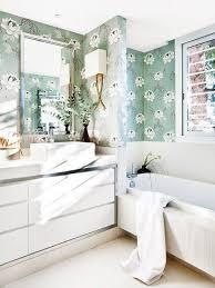 Wallpapered Bathrooms Ideas 936 Best Wallpaper Images On Pinterest Wallpaper Floral