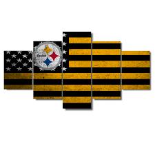 Flag Of Pittsburgh Steelers Arts N Games