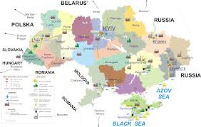 Eurasia Map Ukraine Maps Eurasian Geopolitics