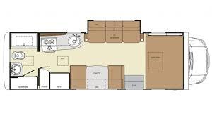 23 ft class c motorhomes rv class c motorhome floor plans small