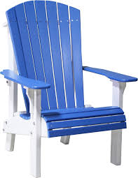 Adirondack Bench Luxcraft Poly Royal Adirondack Chair Comfort Height Swingsets