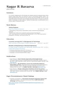 resume format for trainee engineer scm resume format