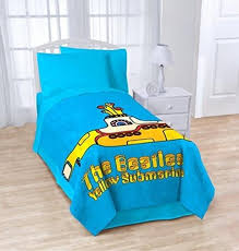 The Beatles Bed Set Beatles Blanket Yellow Submarine Blanket Beatles Fab Four Store