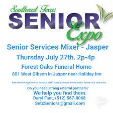 jasper tx networking events u2013 southeast texas senior services