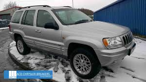 diesel jeep grand cherokee dismantling jeep grand cherokee 2 7 diesel 5 speed automatic 2003