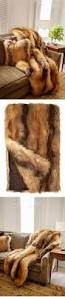 Faux Fox Fur Throw Best 25 Fake Fur Fabric Ideas On Pinterest Christmas 2016