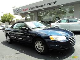 2005 chrysler sebring touring convertible in deep blue pearl