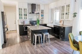 white kitchen cabinets and black stainless steel appliances our kitchen makeover with black stainless steel appliances
