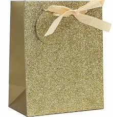 gold gift bags gold glitter gift bag bridal bags