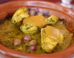 cuisine marocaine poulet aux olives poulet marocain aux olives et citron confit felcouzina