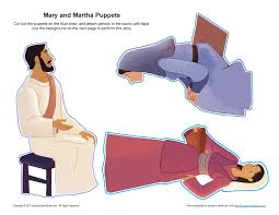 mary and martha puppets bibliai figurák pinterest puppet