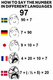 Different Languages Meme - just started learning danish danish learning and language