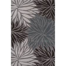White And Gray Area Rug Gray And White Floral Area Rug Creative Rugs Decoration