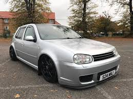volkswagen golf custom mk4 golf gt tdi 150 modified custom air ride v2 in romford