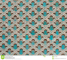 Moorish Design by Ornate Moorish Pattern Stock Photo Image 39372868