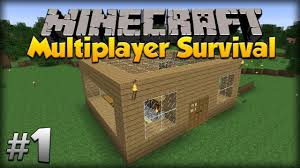 online survival ep 1 make your own house youtube